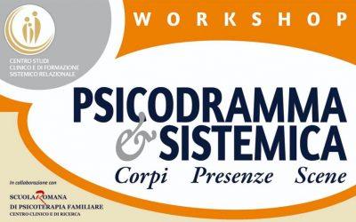 Workshop PSICODRAMA & SISTEMICA — Corpi-Presenze-Scene