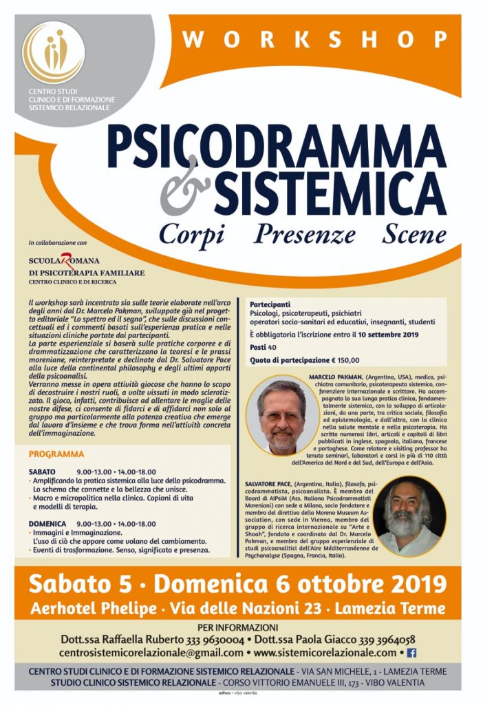 Workshop Psicodramma & sistemica